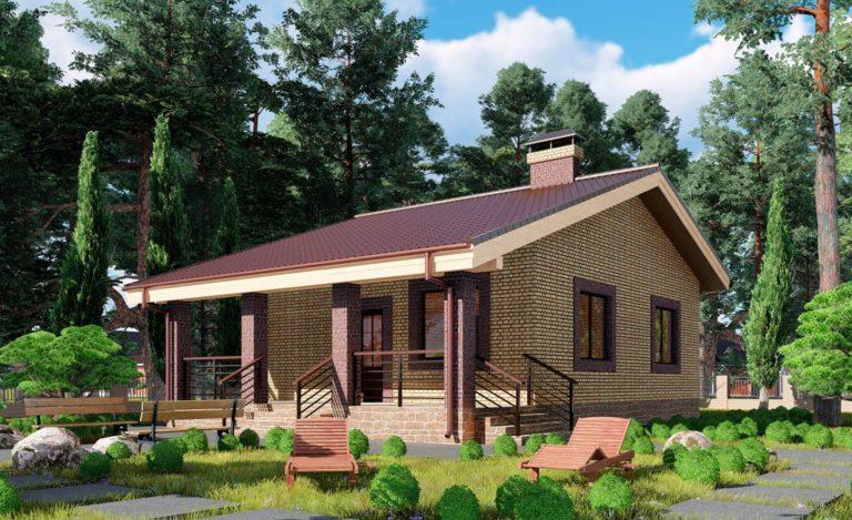 Проект дома Абинск