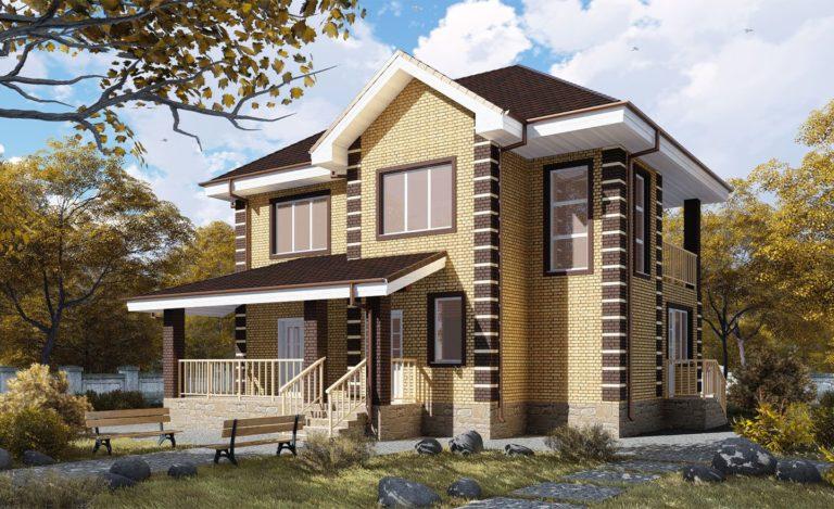 Проект дома Алупка