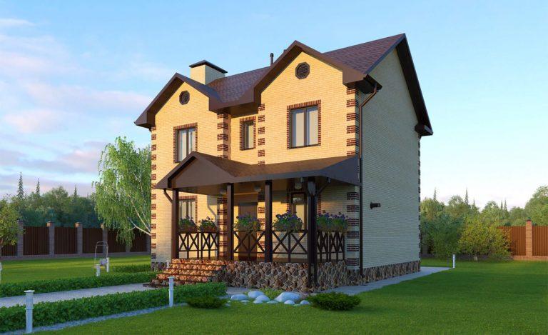 Проект дома Белогорск