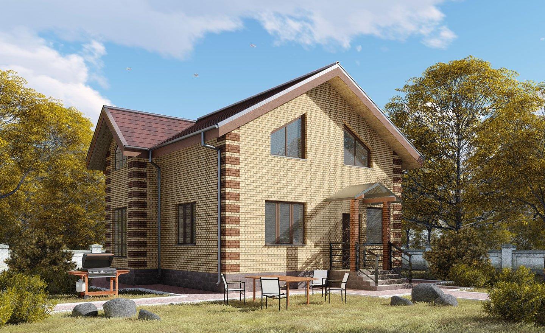 пришел проекты домов полтора этажа из кирпича фото этом