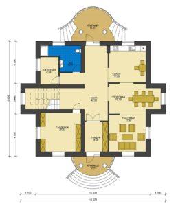 План первого этажа Ижевск
