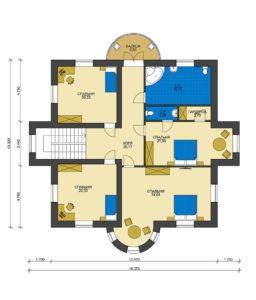 План второго этажа Ижевск