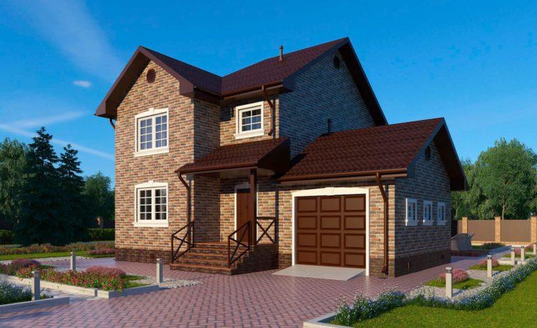 Проект дома Клин