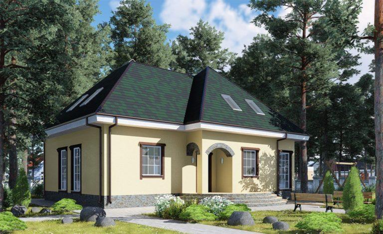 Проект дома Коломна