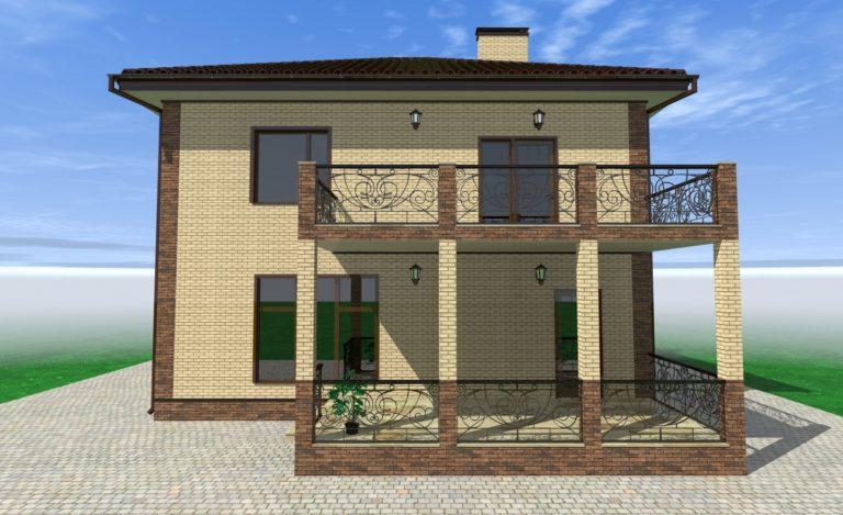 Проект дома Комфортный