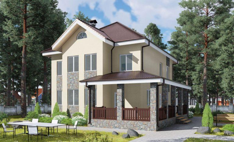 Проект дома Кубинка