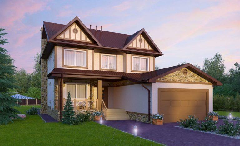 Проект дома Майкоп