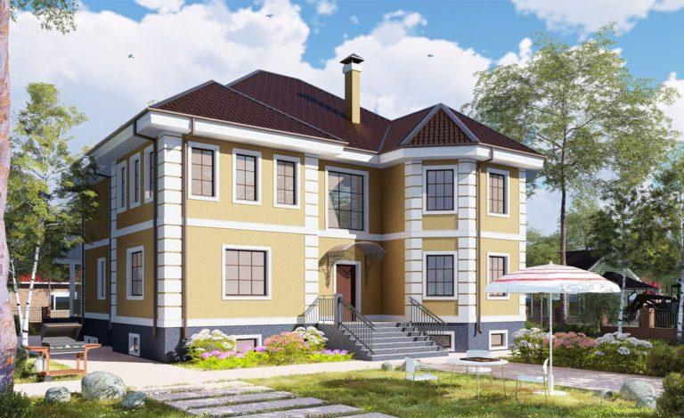 Проект дома Миасс
