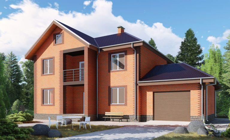Проект дома Новомосковск