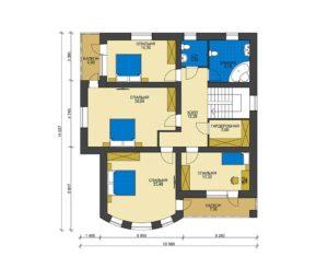 План второго этажа Омск