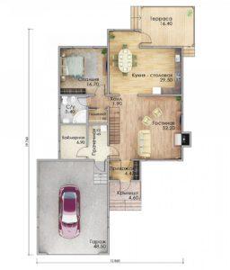 План первого этажа Оренбург