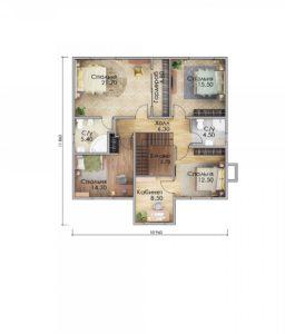 План второго этажа Оренбург