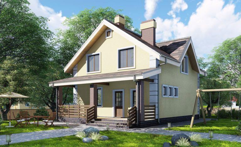 Проект дома Туапсе
