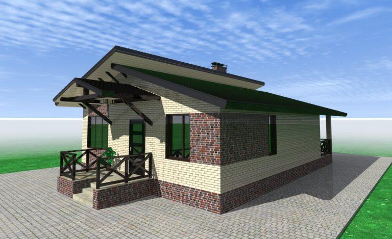 Проект дома Уютный
