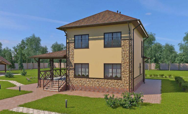 Проект дома Звенигород